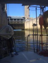 Slussen i maas waal kanal